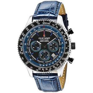 ギオネ 腕時計 フライトタイマー パイロットクロノグラフ FT42SNVNV