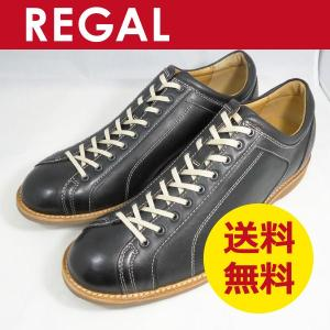 REGAL STANDARDS スニーカー レスアップシューズ 750R ブラック|k-atmart