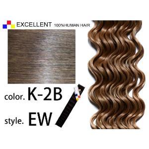 ECELLENT 人毛エクステ ウェーブ EW 28inch K-2B|k-brand