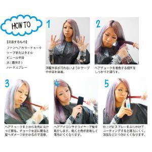 【送料無料】ファンヘアカラーチョーク 髪用ヘアチョーク 12色 ワンデイカラー k-brand 02