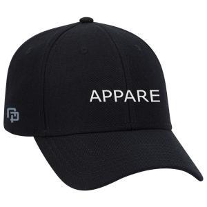 APPARE クラシックロゴキャップ / ブラック|k-conmart