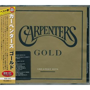 カーペンターズ ゴールド輸入盤 全20曲  CD|k-daihan