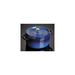 ホーロー鍋 ストウブ ピコココットラウンド ブルー 20cm|k-direct2
