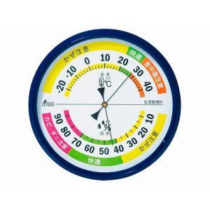 70503 温湿度計 F-4 生活管理 丸型 15cm|k-direct2