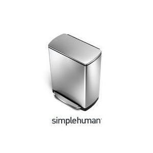 CW2005 シンプルヒューマン ステンレス レクタンギュラーステップカン 38L|k-direct2