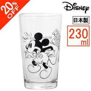 20%OFF★ アデリア 日本製 Vintage ディズニー グラス 230ml  ミッキー 1567|k-direct2