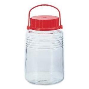 【日本製】 アデリア 貯蔵瓶  A型5号 4L 梅酒びん(果実酒びん) 761