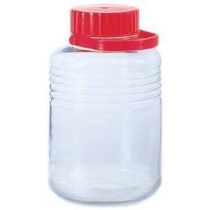 【日本製】 アデリア 貯蔵瓶  A型10号 8L 梅酒びん(果実酒びん) 763|k-direct2