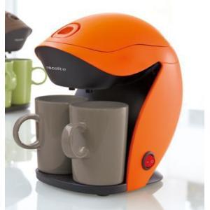 レコルト グランカフェデュオ 2カップコーヒーメーカー オレンジ KD-2 k-direct2