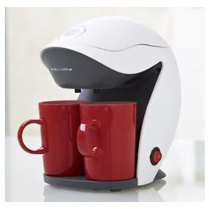レコルト グランカフェデュオ 2カップコーヒーメーカー ホワイト KD-2 k-direct2