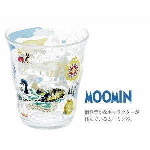 ボルミオリロコ ムーミン ガラスタンブラー250ml ムーミン谷|k-direct2