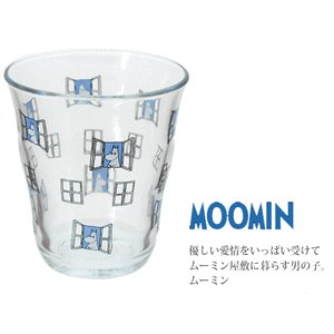 ボルミオリロコ ムーミン ガラスタンブラー250ml ムーミン k-direct2