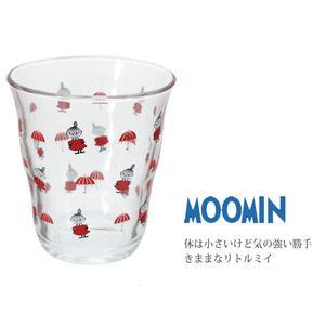 ボルミオリロコ ムーミン ガラスタンブラー250ml リトルミイ k-direct2