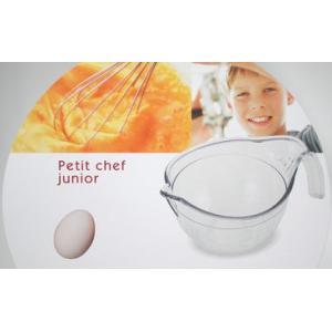 子供と料理!食育 プチシェフ 片口 調理ボール クリア|k-direct2