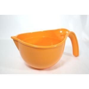 子供と料理!食育 プチシェフ 片口 調理ボール オレンジ|k-direct2