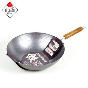 <title>パール金属 HB-4292 窒化鉄 軽くてサビにくい 鉄のいため鍋 33cm 日本製 IH対応 正規逆輸入品</title>