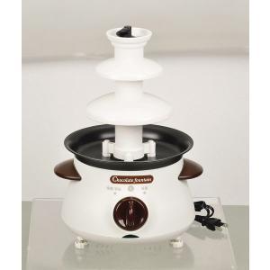 送料無料 リトルリッチ 電気チョコレートファウンテン M ホワイト 3〜4人用 D-308 k-direct2