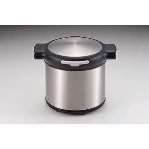 エコック 真空保温調理鍋 4.5L ステンシルバー H-8092|k-direct2