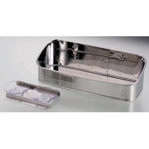 アクアスプラッシュ 抗菌ステンレス製洗剤・スポンジ入れ 23|k-direct2