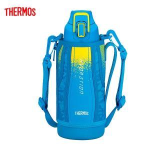 送料無料 サーモス FHT-800F BL-C 水筒 真空断熱スポーツボトル ブルーカモフラージュ 0.8L|k-direct2