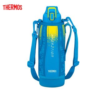 送料無料 サーモス FHT-1000F BL-C 水筒 真空断熱スポーツボトル ブルーカモフラージュ 1.0L|k-direct2