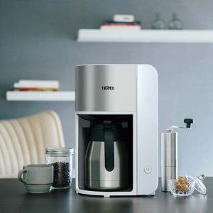 送料無料 サーモス ECK-1000 WH 真空断熱ポットコーヒーメーカー ホワイト