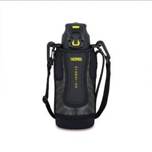 送料無料 サーモス 真空断熱スポーツボトル0.8L ブラックイエロー FFZ-801F-BKY ステンレスボトル 水筒
