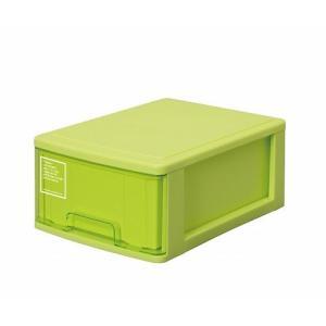 シルキー A4サイズ収納ボックス1段 410 グリーン k-direct2