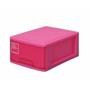 シルキー A4サイズ収納ボックス1段 410 ピンク k-direct2