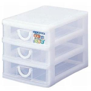 エルピス B6サイズ収納ボックス3段 B-603 ホワイト|k-direct2