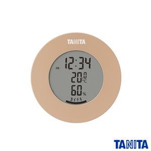 タニタ TT585BR デジタル温湿度計 ブラウン