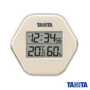 【送料無料メール便専用】タニタ TT573IV デジタル温湿度計 アイボリー|k-direct2