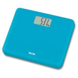 送料無料 タニタ デジタル体重計 HD-660 ブルー|k-direct2