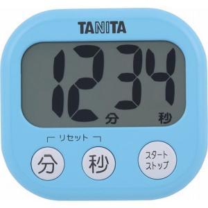 タニタ でか見えタイマー アクアミントブルー TD-384BL