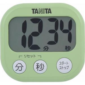 代引不可【送料無料メール便専用】 タニタ でか見えタイマー ピスタチオグリーン TD-384GR