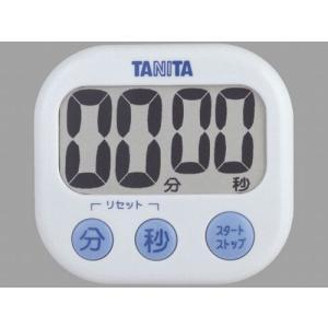 代引不可【送料無料メール便専用】 タニタ でか見えタイマー ホワイト TD-384WH