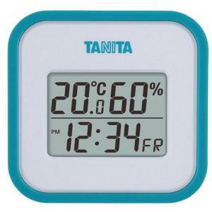 送料無料 タニタ デジタル温湿度計 ブルー TT-558BL|k-direct2