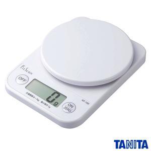 タニタ デジタル クッキングスケール キッチンスケール 1kg/1g ホワイト KF-100-WH|k-direct2