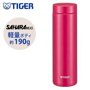 タイガー サハラマグ ステンレス ミニ ボトル 軽量水筒 500ml 夢重力 パッション ピンク M...