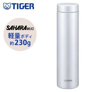 タイガー サハラマグ ステンレス ミニ ボトル 軽量水筒 600ml 夢重力 アイス ホワイト MM...
