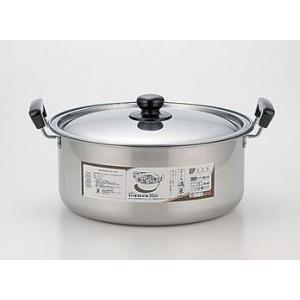 ヨシカワ 日本製煮物鍋 満菜 ステンレス両手鍋30cm SH9864|k-direct2