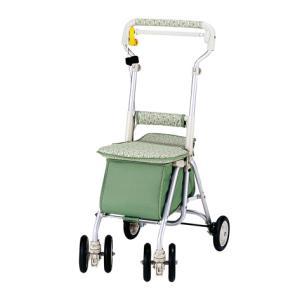 【送料無料】35%OFF 象印ベビー シルバーカー ヘルスバッグ ライトミニW12L ライングリーン|k-direct2