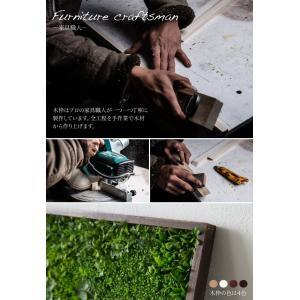 フェイクグリーン サイズ指定自由 壁掛けグリーン ウォールグリーン 人工 観葉植物 造花 光触媒 インテリア リアル|k-hana|04