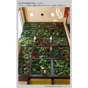 フェイクグリーン サイズ指定自由 壁掛けグリーン ウォールグリーン 人工 観葉植物 造花 光触媒 インテリア リアル|k-hana|07