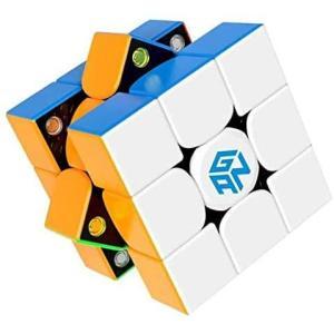Gancube GAN356 X v2 ステッカーレス 競技向け 磁石内蔵3x3x3キューブ