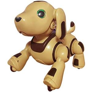 TKSK ロボパピー フレンドリー!モカ 犬型ロボット じゃれたり散歩したりプログラム機能付き