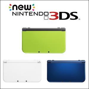 New ニンテンドー 3DS LL ライム×ブラック パール...