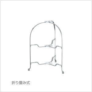 カジュアルプロダクト(CP) バール 18-8フォールダブルスタンド φ23cm ミラー k-koubou