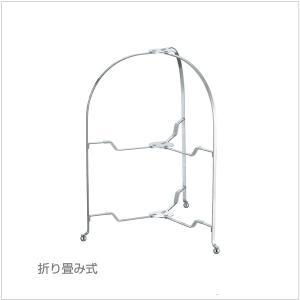カジュアルプロダクト(CP) バール 18-8フォールダブルスタンド φ29cm ミラー k-koubou