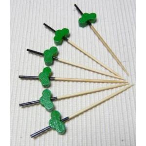 飾り串松(10本入) 7.5cm|k-koubou